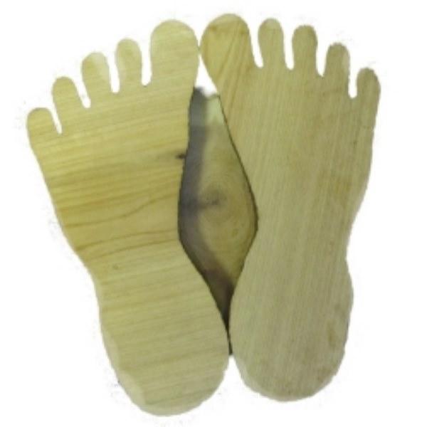 Деревянная подставка - стопы D 10 cm